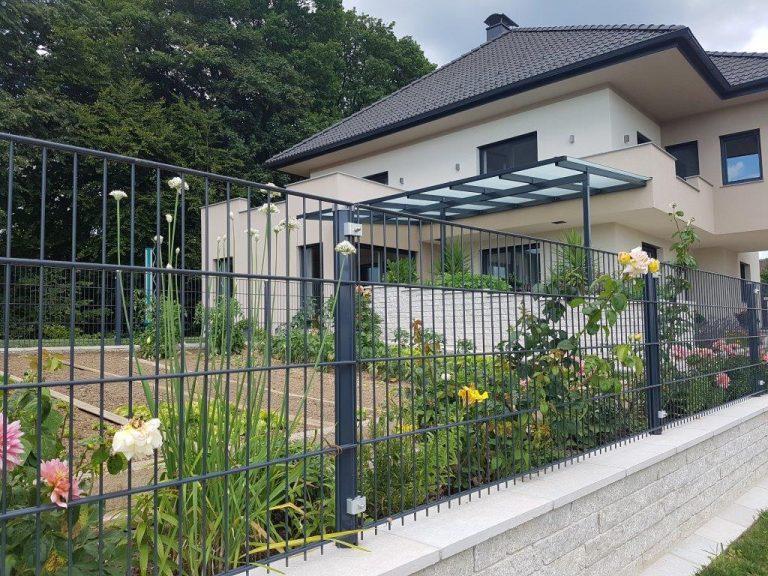 Doppelstabmatte leicht Einfamilienhaus