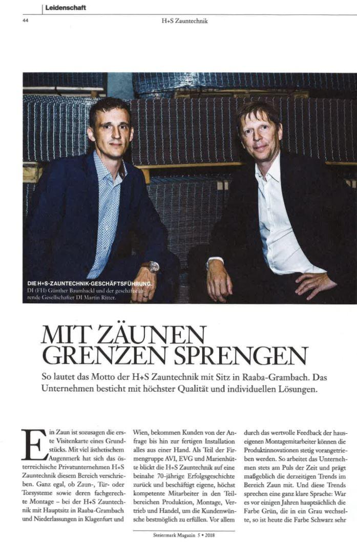 Mit Zäunen Grenzen Sprengen / News Verlagsgruppe
