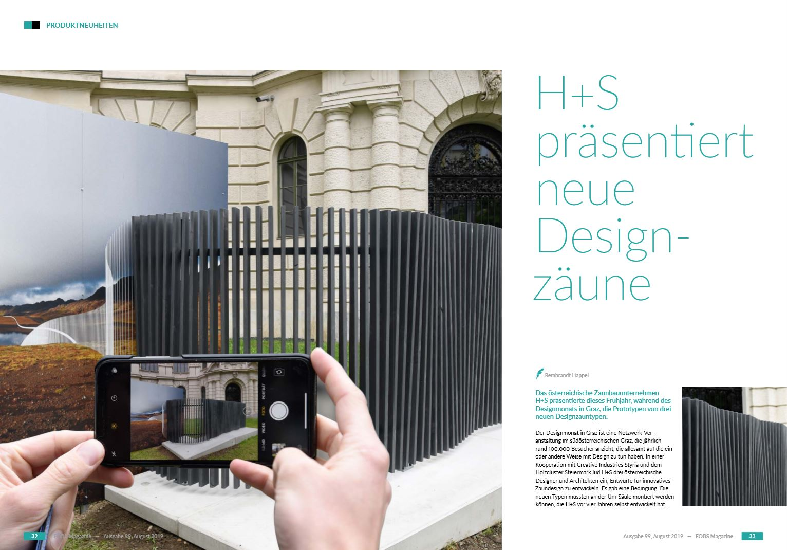 Designmonat Graz / FOBS Magazine