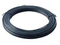 PVC-Spanndraht – 3,5mm – 80m – grau