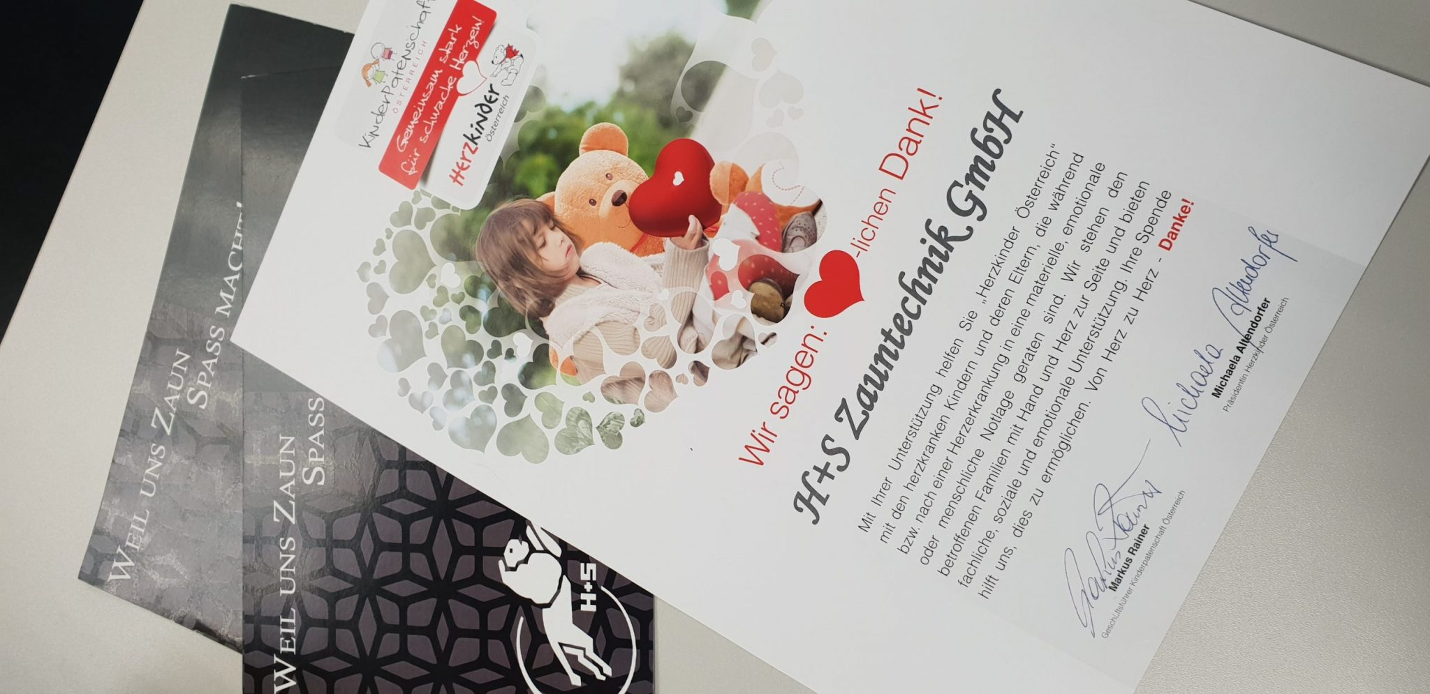 Spende Herzkinder Österreich