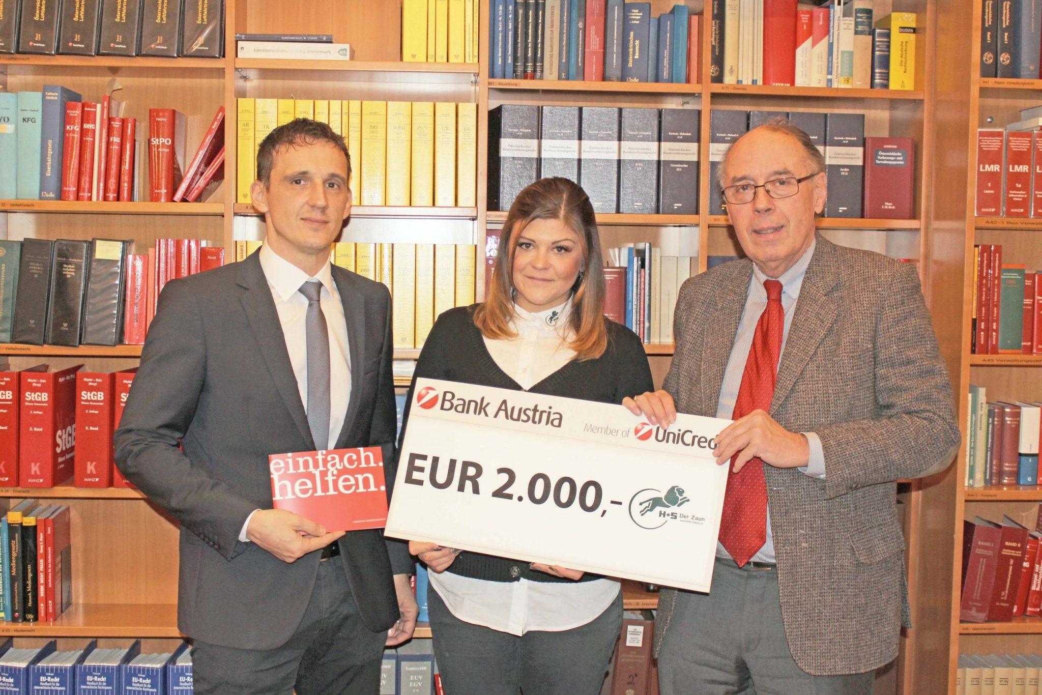 Spende an die Steirische Kinderkrebshilfe